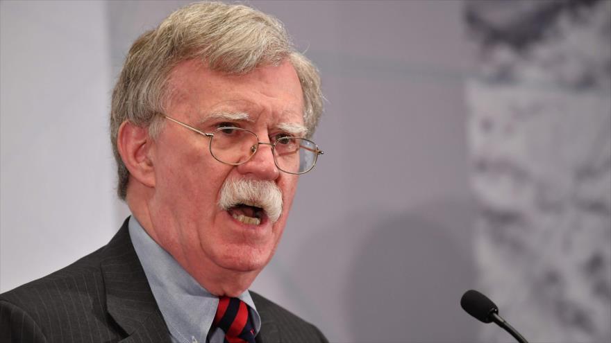 El consejero de Seguridad Nacional estadounidense, John Bolton, da un discurso en Nueva York, 25 de septiembre de 2018. (Foto: AFP)