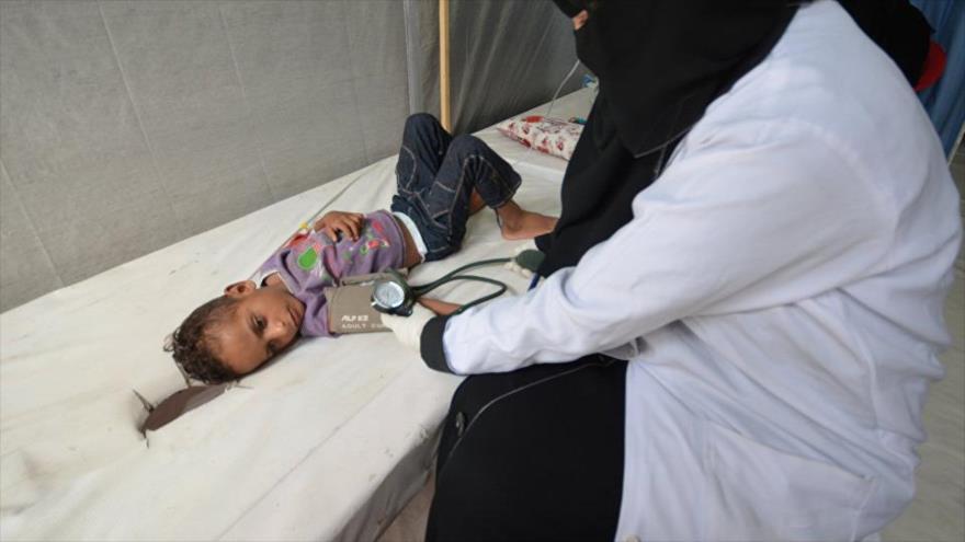 Brote de cólera deja 2508 muertos en solo 5 meses en Yemen