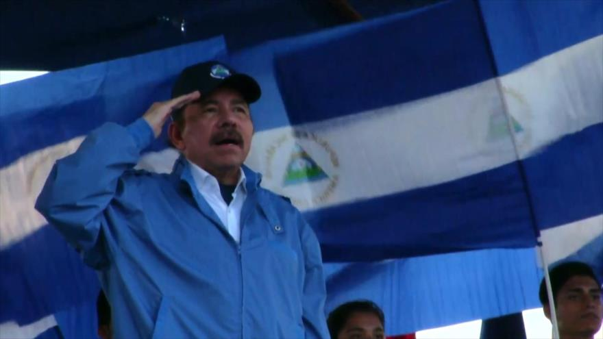 Ortega acusa a oposición nicaragüense de cabildear en EEUU