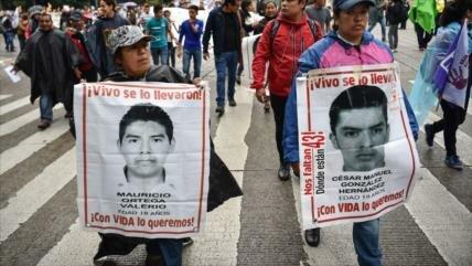 Se cumplen 4 años de la desaparición de los normalistas en México