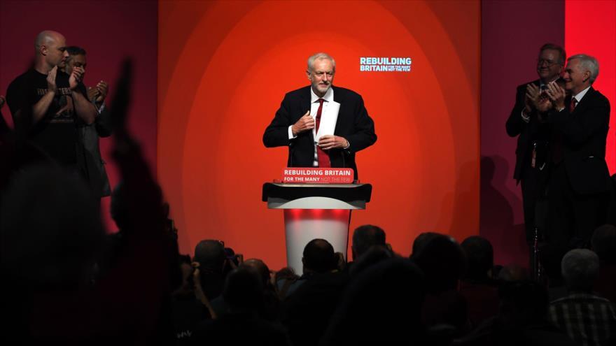 "Corbyn promete ""reconocer al Estado palestino"" si llega al poder"