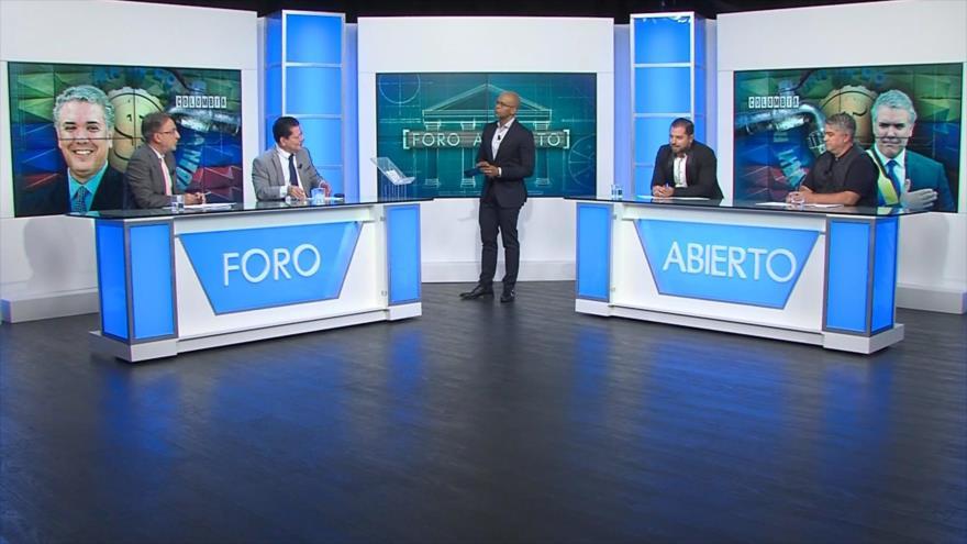Foro Abierto; Colombia: primeras polémicas de Iván Duque