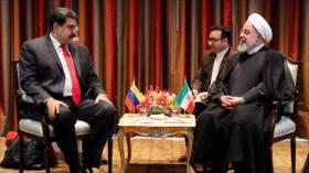 Rohani denuncia ataques y sanciones de EEUU a Irán y Venezuela