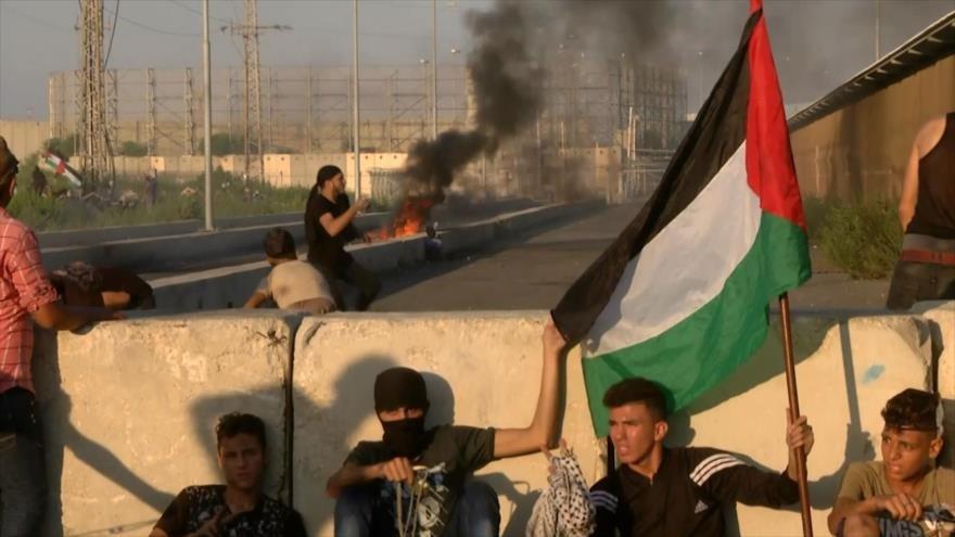 Nuevos enfrentamientos en cruce de Erez en Gaza