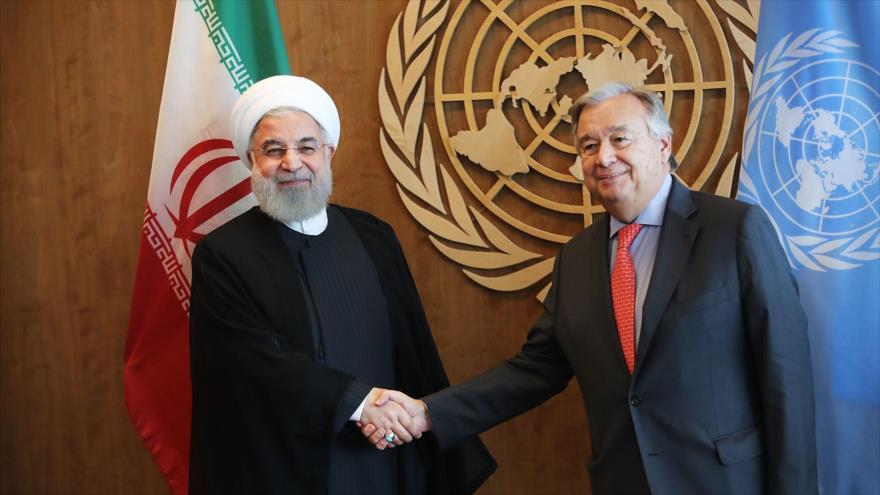 Irán pide a ONU tomar medidas contra infractores de la ley