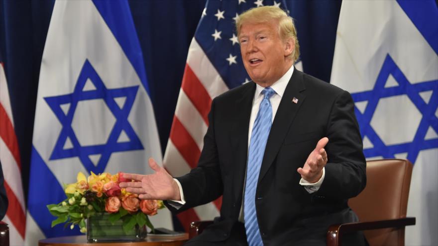 """Trump reconoce en reunión con Netanyahu que Israel es """"agresivo"""""""