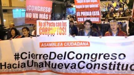 Sindicatos en Perú piden poner fin a corrupción