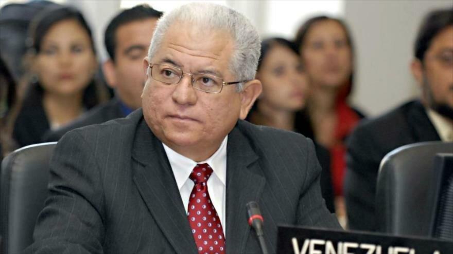 El embajador de Venezuela ante la Organización de las Naciones Unidas (ONU) en Ginebra, Jorge Valero.