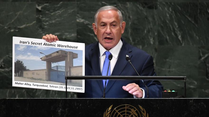 Irán rechaza acusaciones de Israel sobre su instalación nuclear