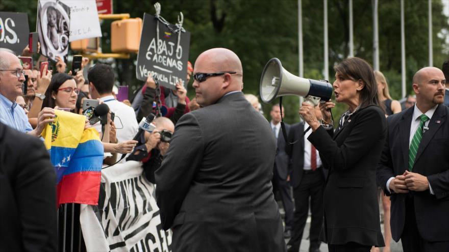 Nikki Haley: Estados Unidos hará todo hasta que Maduro se vaya | HISPANTV