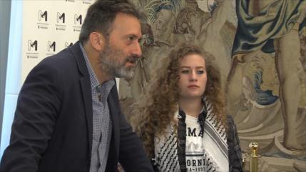Tamimi denuncia que hay más de 350 niños encarcelados en Israel