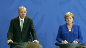 Erdogan en Alemania para tratar el deshielo con Berlín
