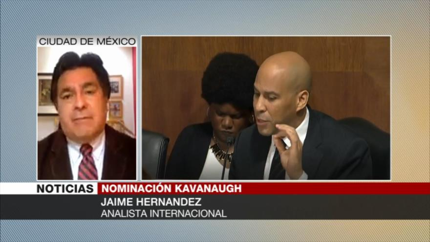 Hernández: Pese a acusaciones, Trump apoya a nominado al Supremo