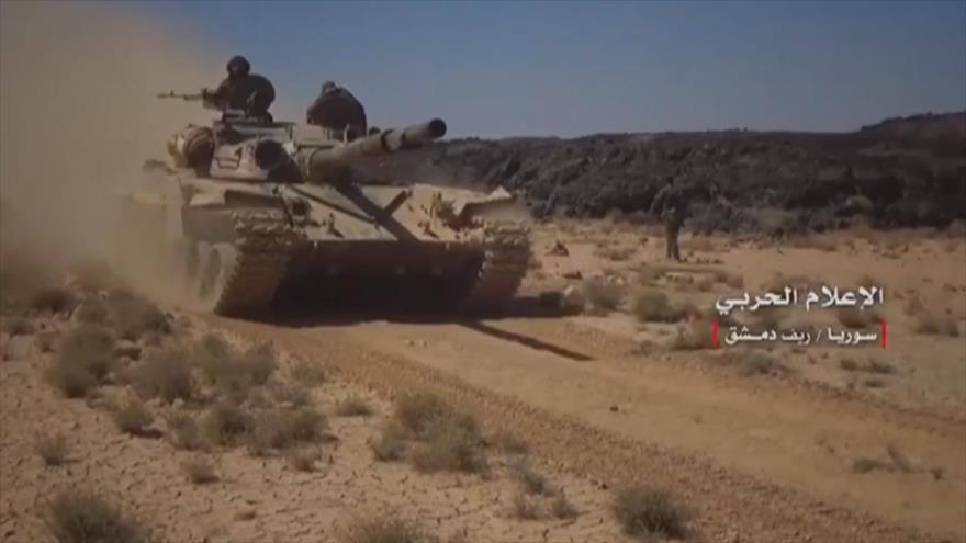 Vídeo: Ejército sirio continúa luchando contra Daesh en Damasco