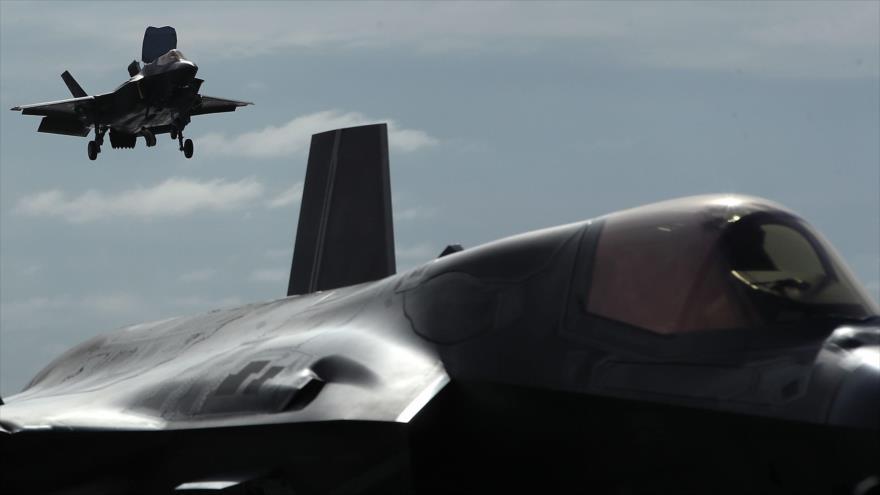 Vídeo: Se estrella por primera vez un cazabombardero F-35B de EEUU