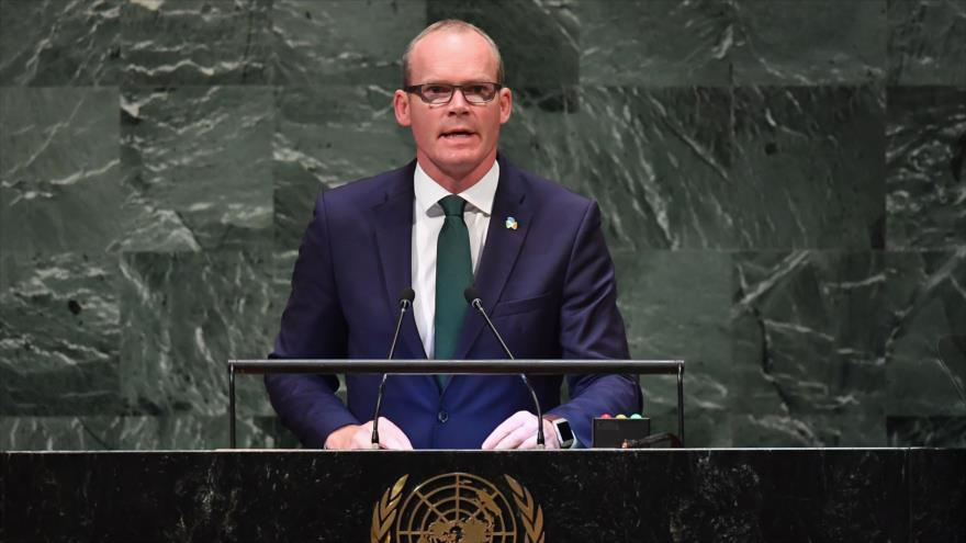 Irlanda recuerda problemas de Palestina y pide retornar fondos a UNRWA