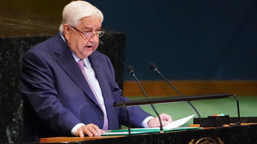 Canciller sirio: Lucha contra el terrorismo está casi terminada