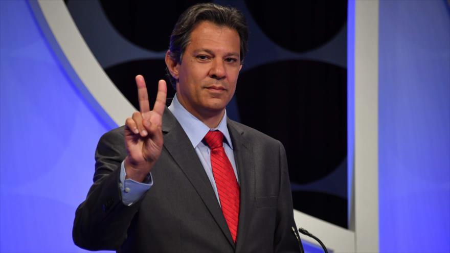 Encuesta: Haddad supera a Bolsonaro en un balotaje en Brasil