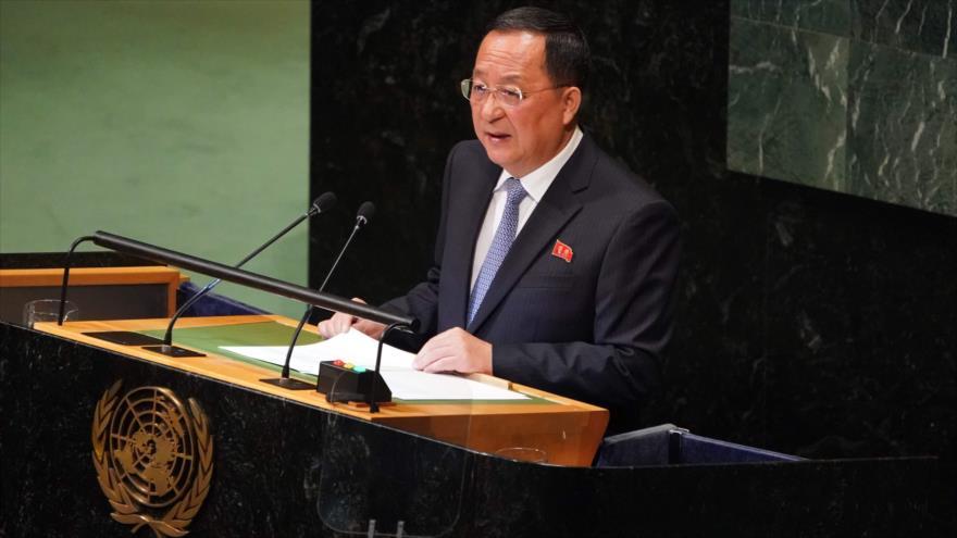 Corea del Norte en la AGNU: las sanciones de EEUU no nos arrodillarán