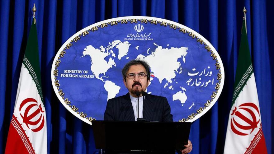 El portavoz de la Cancillería de Irán, Bahram Qasemi.
