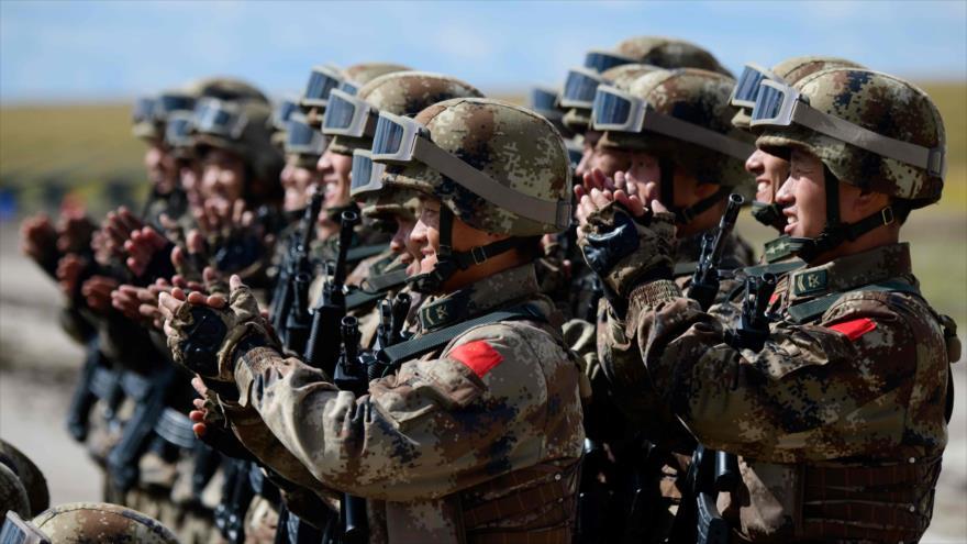 China crea una fuerza antiterrorista internacional de primer orden