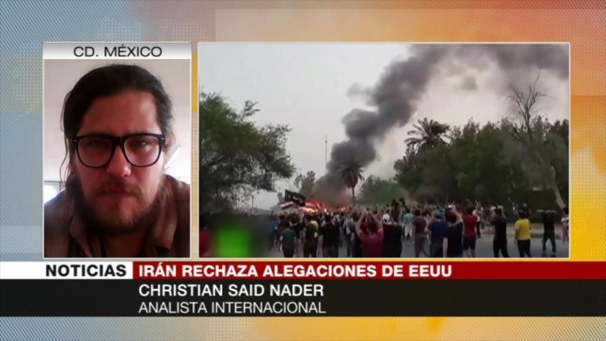 Said Nader: Estados Unidos busca legitimar nueva invasión a Irak