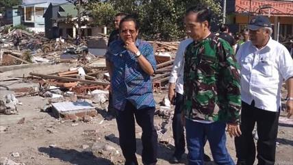 Indonesia busca supervivientes tras tsunami y sismo del viernes
