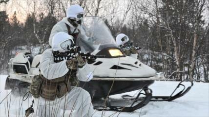 Disparo de advertencia a Rusia: Londres envía tropas al Ártico