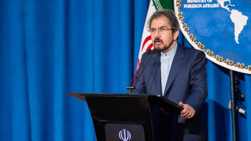 Portavoz del Ministerio de Asuntos Exteriores de Irán, Bahram Qasemi