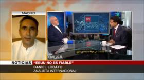 Lobato: EEUU pierde tiempo si busca renegociar acuerdo nuclear
