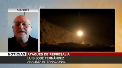Fernández: Ataque en Siria es la respuesta de Irán a los terroristas