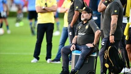 Maradona: Le diría a Messi que no venga más al equipo nacional