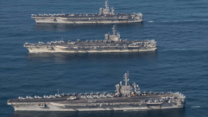 'EEUU se retira del Golfo Pérsico, pese a la elevada retórica antiraní'