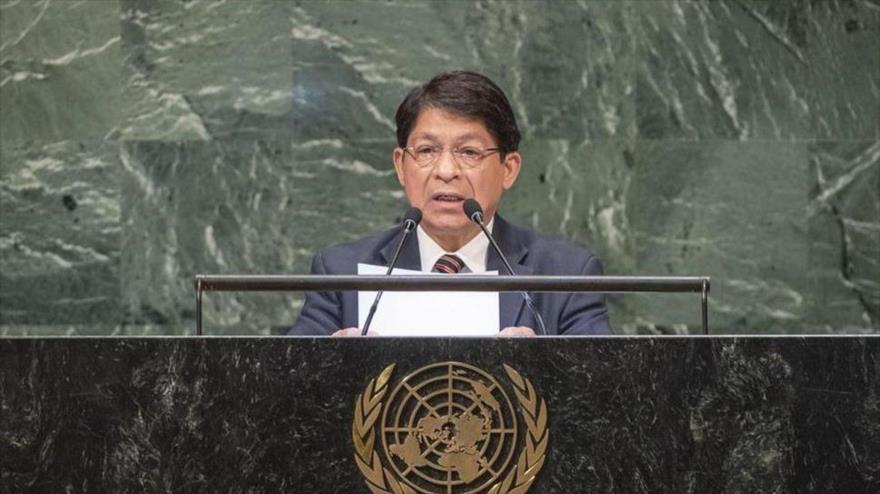 Nicaragua pide ante ONU el cese de intervenciones de EEUU