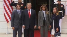 Trump presume del nuevo TLCAN con Canadá y México