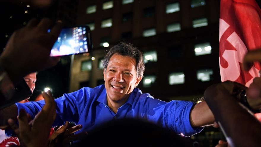 """Brasil: Fernando Haddad afirma ser el """"remedio para el fascismo"""""""