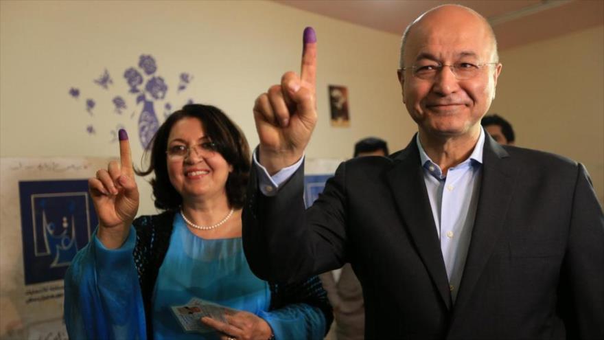 Parlamento de Irak elige a Barham Salih como nuevo presidente del país