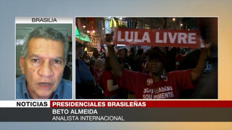 Almeida: Haddad encaminaría a Brasil a la no dependencia de EEUU
