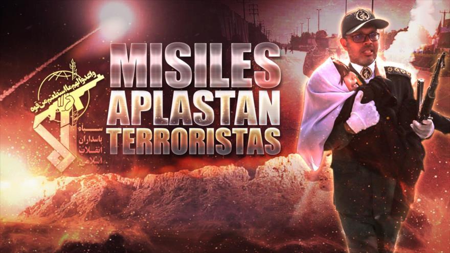 Detrás de la Razón: Irán lanza ataque con misiles, caen en Siria en zona donde camina EEUU