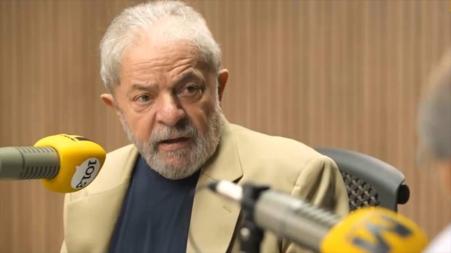 Prohíben a Lula da Silva conceder entrevistas