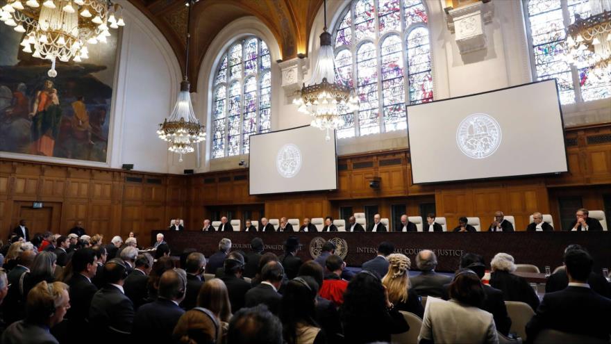 CIJ ordena a EEUU detener sanciones a bienes humanitarios de Irán