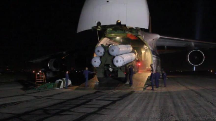 Rusia publica vídeo de la entrega de sistemas S-300 a Siria