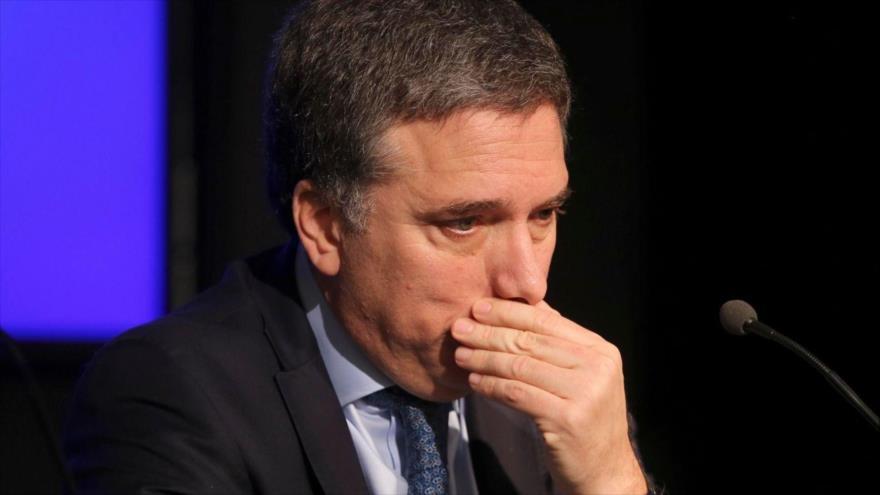 El ministro de Economía de Argentina, Nicolás Dujovne.