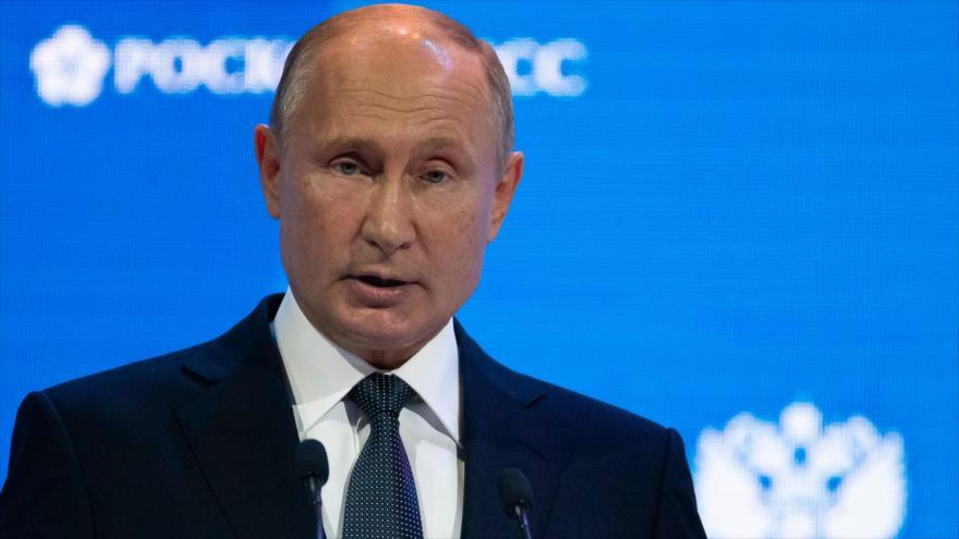 Putin: EEUU debe irse de Siria si no obtiene permiso para quedarse