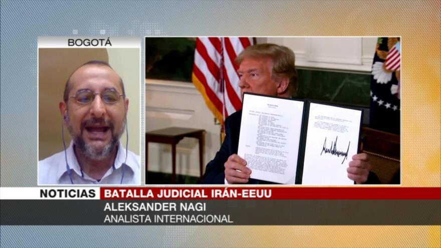 Nagi: 'Fallo de La Haya demuestra que EEUU es gánster y criminal'