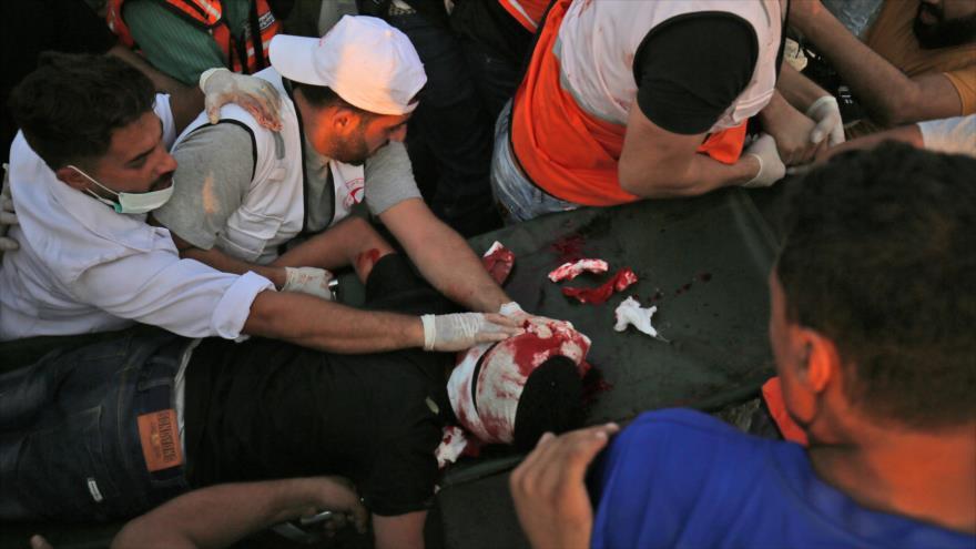 Francotirador israelí mata a un adolescente palestino en Gaza
