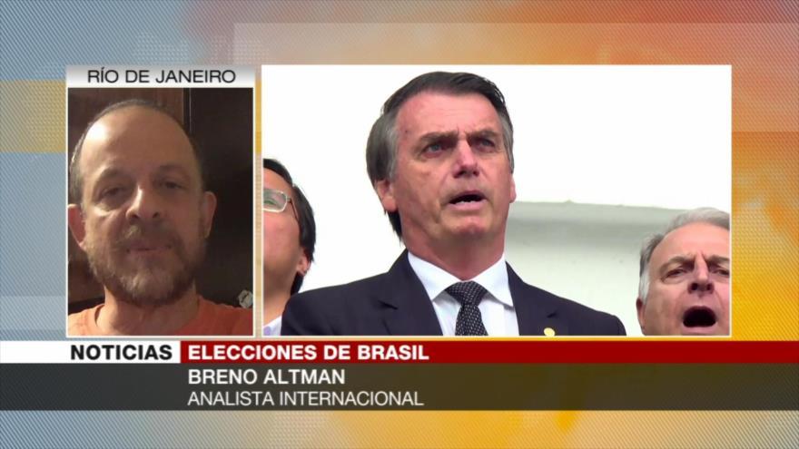 """Altman: Ultraderecha en Brasil se fortalece con discurso """"autoritario"""""""