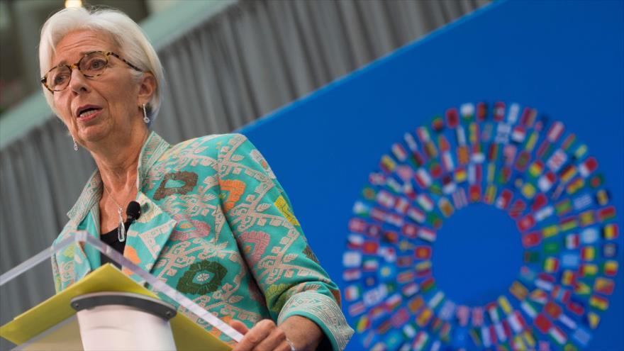 La directora del Fondo Monetario Internacional (FMI), Christine Lagarde, 1 de octubre de 2018.