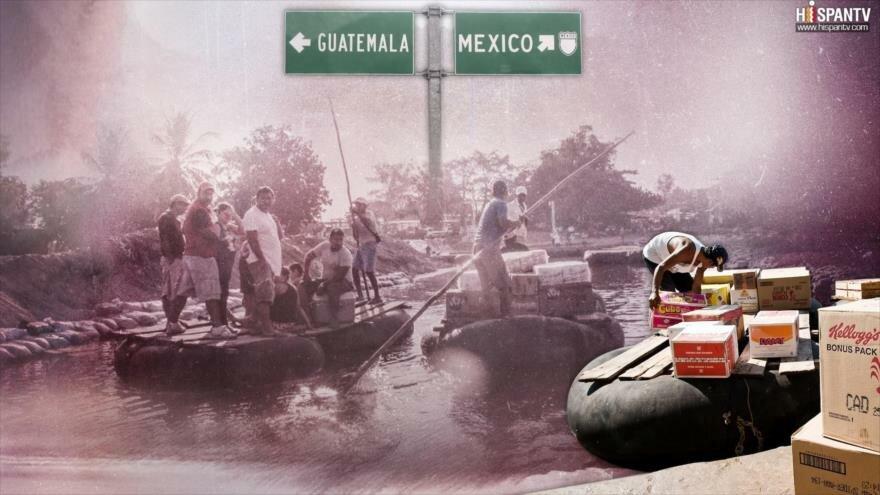 Contrabando, sustento para miles de familias en la frontera