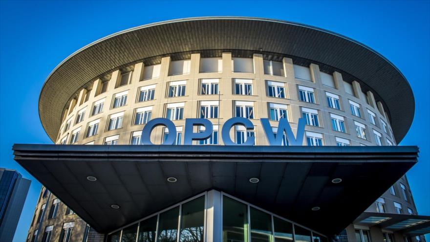 Vista exterior de la sede de la Organización para la Prohibición de Armas Químicas (OPAQ) en La Haya. (Foto: AFP)